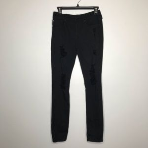 NWT Express Distressed Skinny Jeans